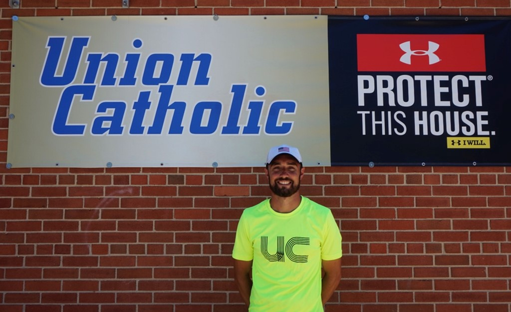 UC's Mike McCabe chosen as N.J. Girls T&F Coach of the Year by the USTFCCCA