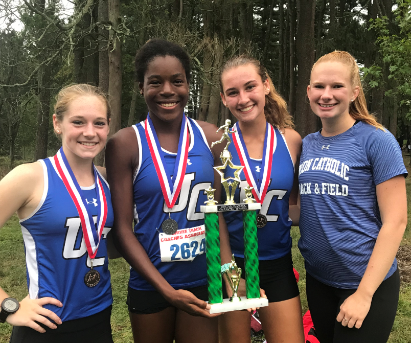 UC girls cross-country team wins two team titles at Battle at Ocean County Park